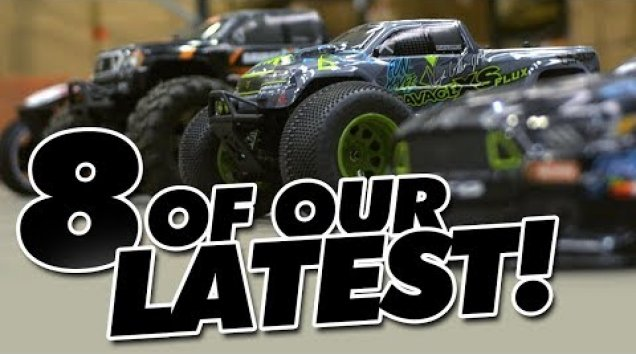 HPI TV Video: HPI Racing - Eight of Our Latest