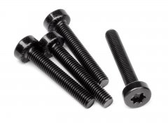 WIDE CAP HEAD TORX SCREW M5x30mm (4pcs)