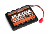 #160155 Plazma 6.0V 1200mAh NiMH Micro RS4 Battery Pack