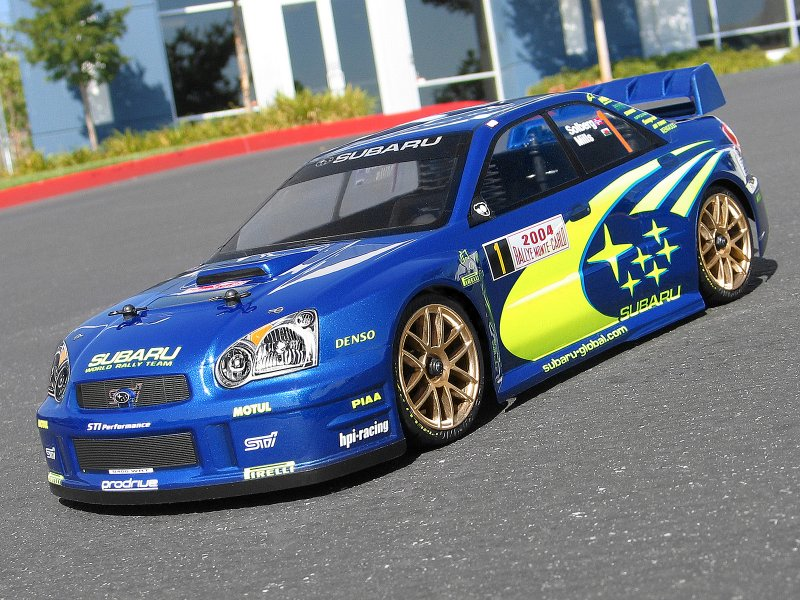 17505 2004 Subaru Impreza Wrc Body 200mm