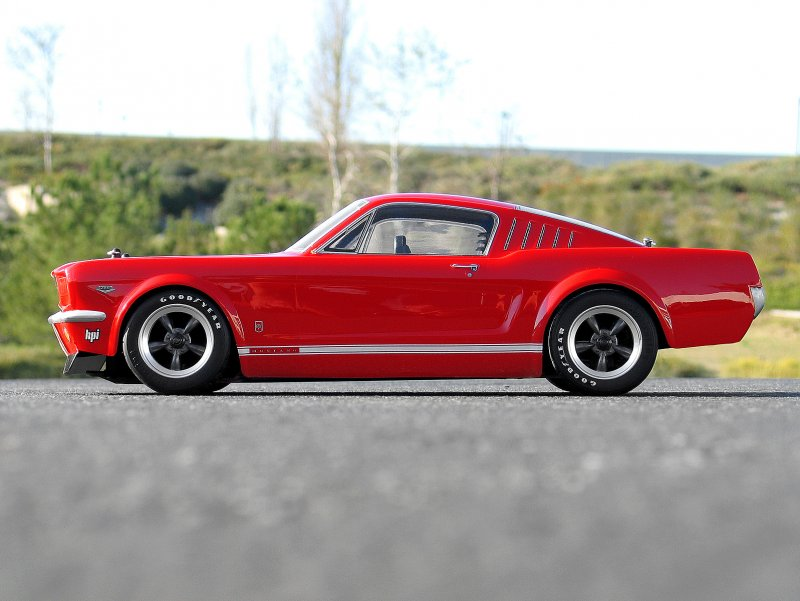17519 1966 Ford Mustang Gt Body 200mm