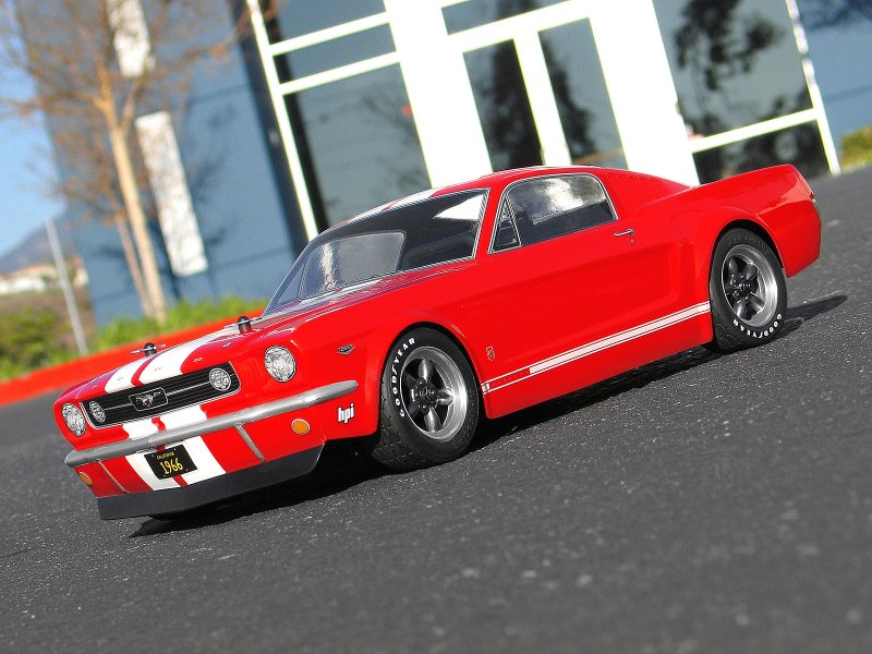 17519 1966 FORD MUSTANG GT BODY (200mm)