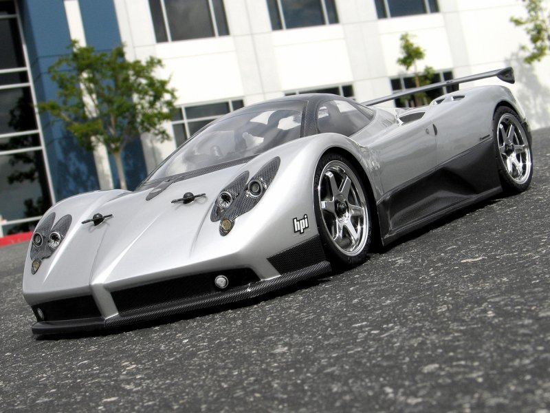 17523 Pagani Zonda F Clear Body 200mm