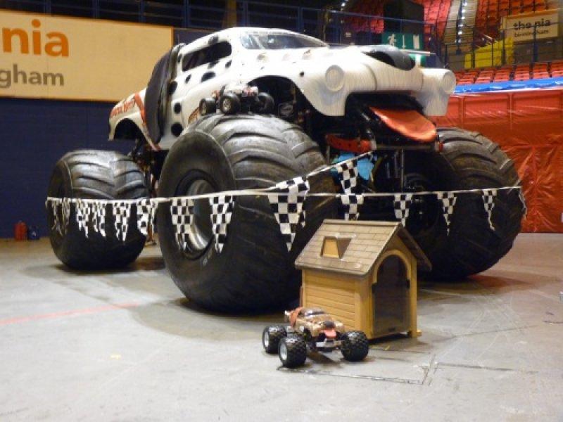 No Limit Rc At Pembrey And Birmingham Monster Jam At Hpi Racing