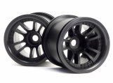 #3051 SPLIT 5 TRUCK WHEEL (BLACK/2pcs)