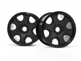 #3191 - WARLOCK WHEEL BLACK (83x56mm/2pcs)