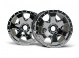 #3192 WARLOCK WHEEL CHROME (83x56mm/2pcs)