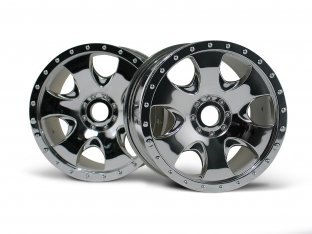 #3192 - WARLOCK WHEEL CHROME (83x56mm/2pcs)