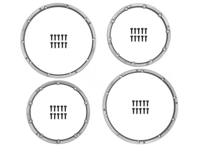 3242 WHEEL BEAD LOCK RINGS (SILVER/For 2 Wheels)
