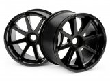 #3256 BLAST WHEEL BLACK (115x70mm 7inch/2pcs)