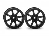 #3308 WORK EMOTION XC8 WHEEL 26mm BLACK (9mm OFFSET)