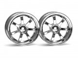 #3318 RAYS GRAM LIGHTS 57S-PRO WHEEL CHROME (9mm OFFSET)