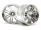 #3340 LP29 WHEEL RAYS VOLKRACING RE30 CHROME (2pcs)