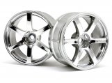 #33465 LP29 WHEEL YOKOHAMA AVS MODEL T6 CHROME (2pcs)