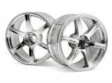 #33466 Диски 1/10 - LP32  YOKOHAMA AVS T6 CHROME (2шт)