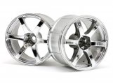 #33467 LP35 WHEEL YOKOHAMA AVS MODEL T6 CHROME (2pcs)