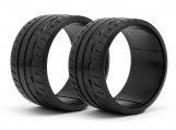 #33470 LP35 T-DRIFT TIRE BRIDGESTONE POTENZA RE-11 (2pcs)
