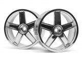 #33476 LP29 WHEEL MF TYPE CHROME (3mm OFFSET/2pcs)