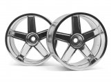 #33477 LP32 WHEEL MF TYPE CHROME (6mm OFFSET/2pcs)