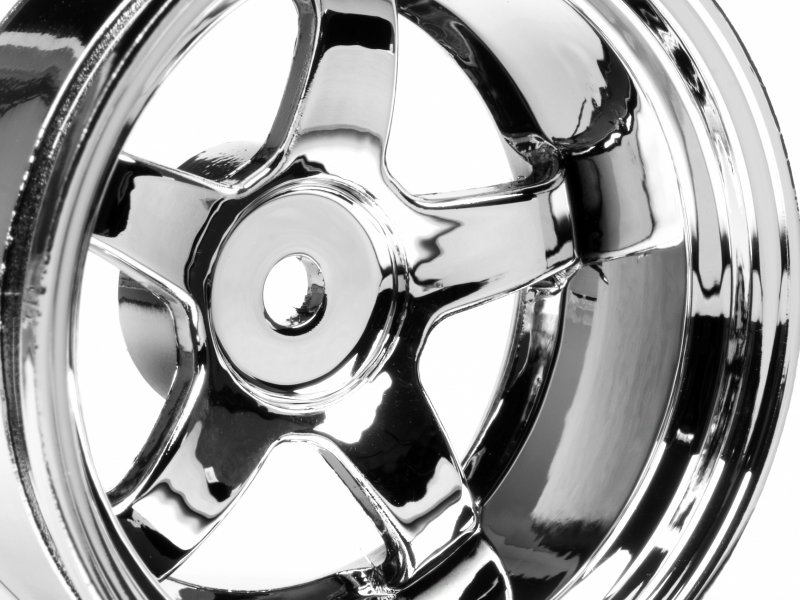 3593 Work Meister S1 Wheel 26mm Chrome 9mm Offset