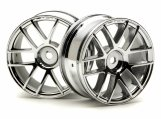 #3797 SPLIT 6 WHEEL 26mm CHROME