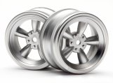 #3815 VINTAGE 5 SPOKE WHEEL 26mm MATTE CHROME 0mm OFFSET