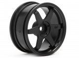 #3841 TE37 WHEEL 26mm BLACK (3mm OFFSET)
