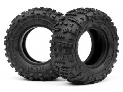 HB  ROVER 1.9 TIRE (Red/Rock Crawler/2pcs)