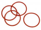 #6898 SILICONE O-RING P31 (4pcs)