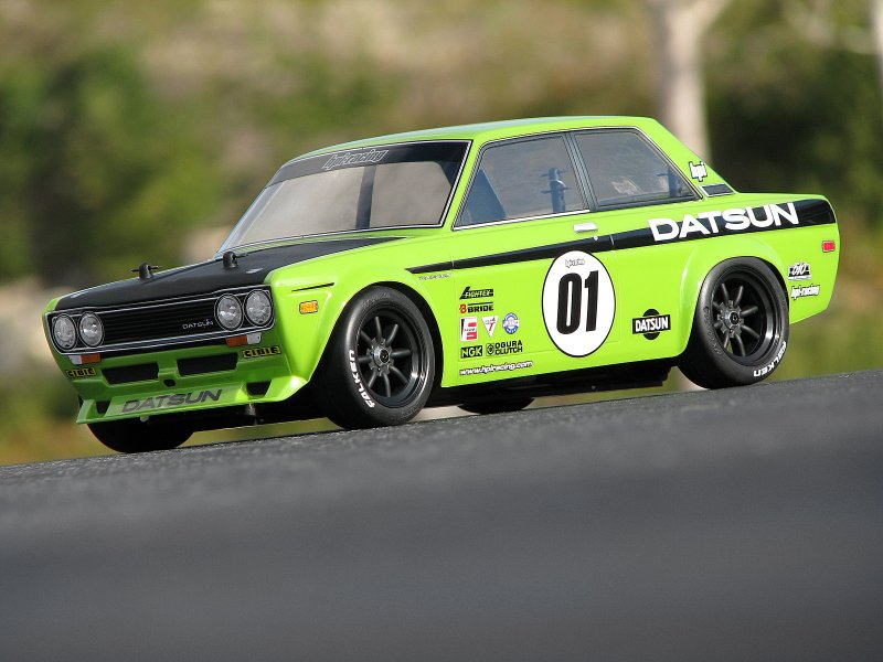 7209 DATSUN 510 BODY (WB225mm F0/R3mm)