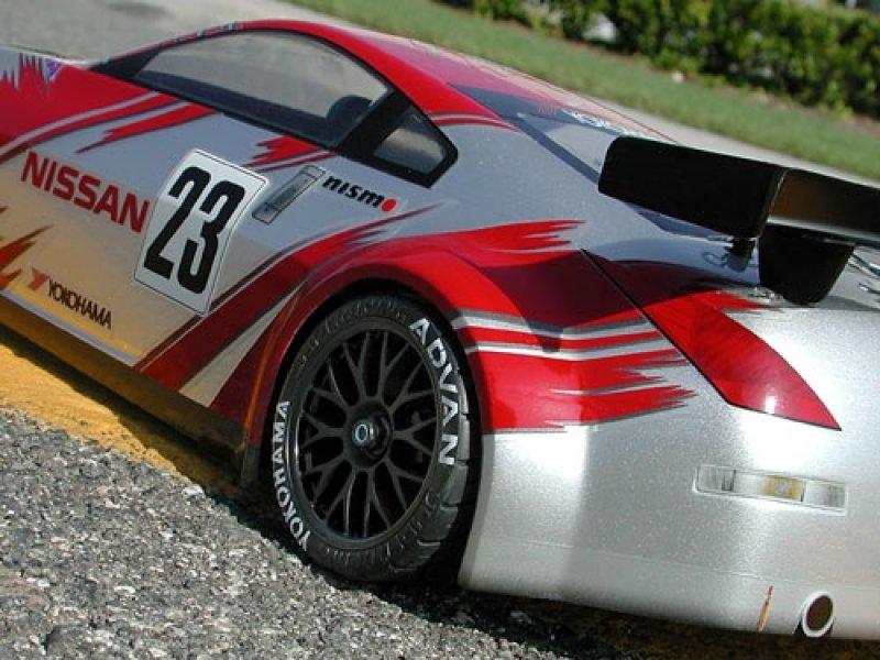 7385 Nissan 350z Gt Race Body 190mm