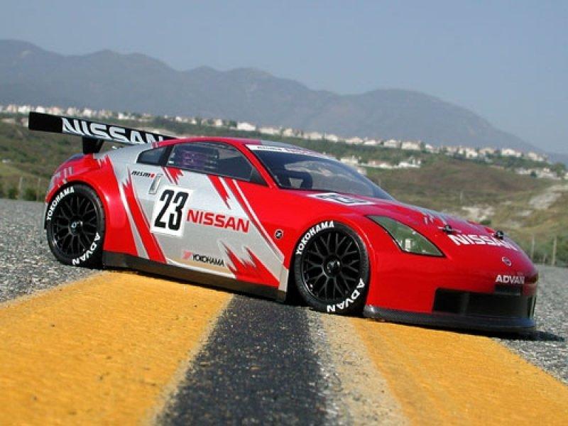 7385 NISSAN 350Z GT RACE BODY (190mm)
