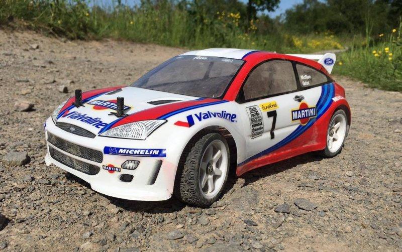 7412 FORD FOCUS WRC BODY (200mm)