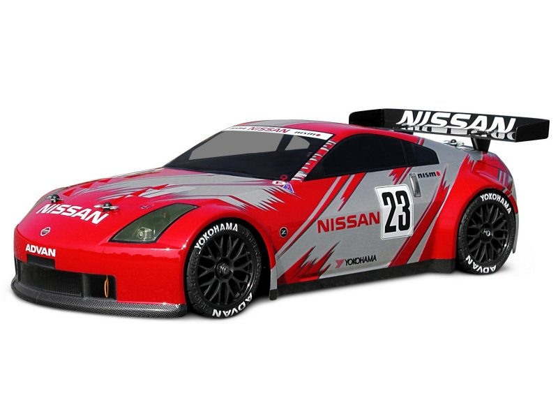 7485 Nissan 350z Nismo Gt Race Body 200mm