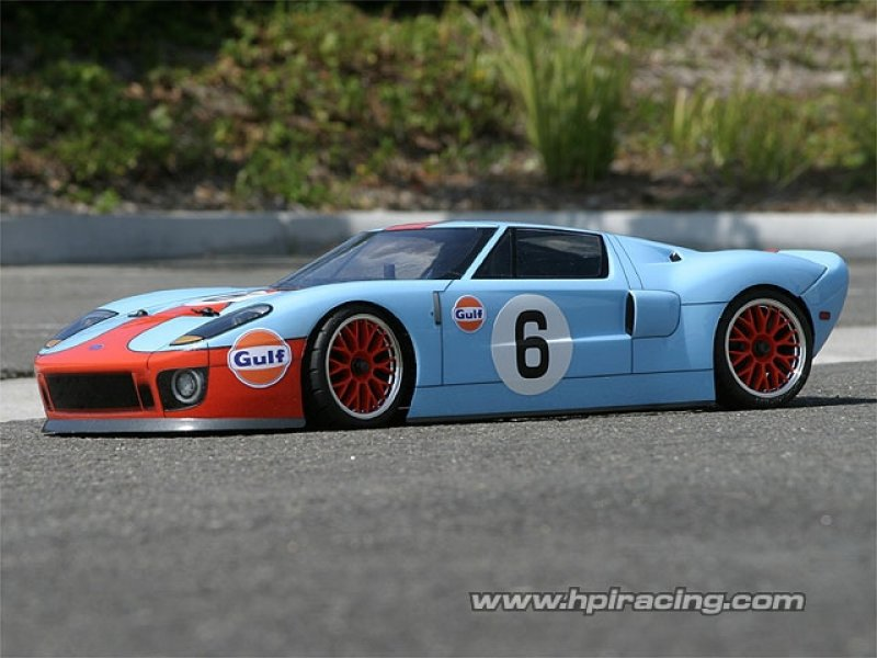7495 Ford Gt Body 200mm Wb255mm