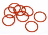 #75071 O-RING S15 (15x1.5mm/ORANGE/8pcs)