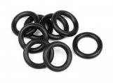 #75080 Oリング 7x11x2.0mm (BLACK/8pcs)