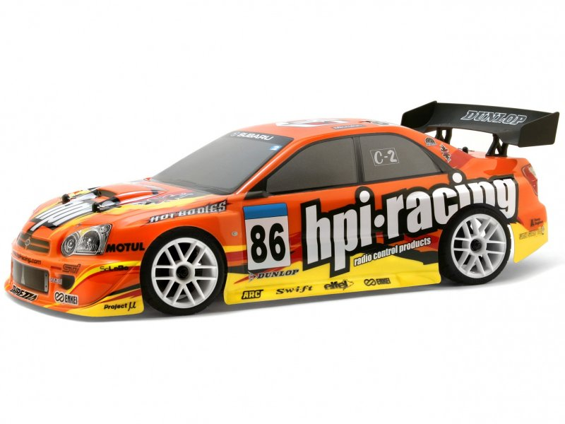 7734 HPI RACING IMPREZA PAINTED BODY (200mm/WB255mm)