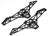 #85266 Chassis Set Wheely King (schwarz)
