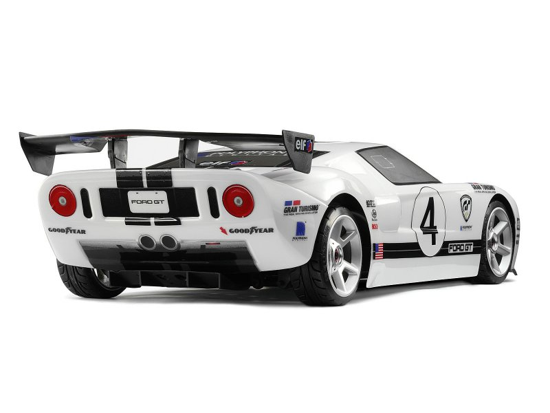 85288 Gt Wing Set Type D 10th Scale Black