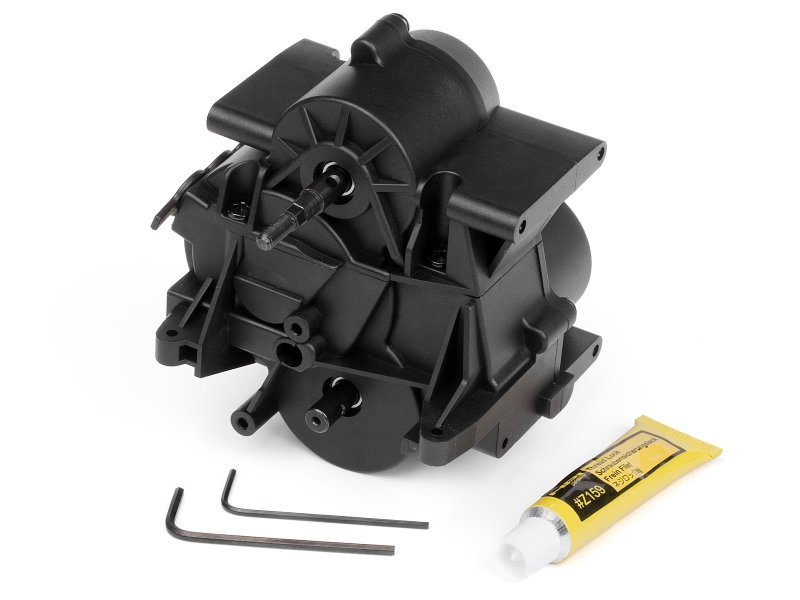#87257 - 3 speed transmission for savage x (assembled)
