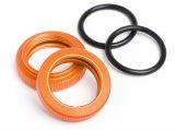 #87492 SHOCK ADJUSTER NUT 20mm (ORANGE/2pcs)