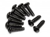 #94354 TP. BUTTON HEAD SCREW M3x10mm (HEX SOCKET/10pcs)