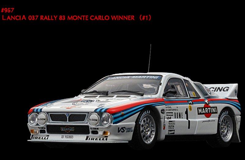 957 lancia 037 rally 39 83 monte carlo winner 1. Black Bedroom Furniture Sets. Home Design Ideas