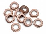 #B075 FLANGED METAL BUSHING 6x10x3mm (10pcs)