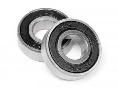 BALL BEARING 12x28x8mm (RUBBER SHIELD/2pcs)