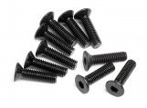 #Z084 FLAT HEAD SCREW M3x12mm (HEX SOCKET/10pcs)