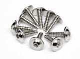 #Z489 TP. FLANGED SCREW M2.6x10mm (HEX SOCKET/10pcs)
