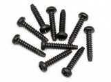 #Z554 TP. BUTTON HEAD SCREW M3x15mm (10pcs)