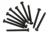#Z558 TP. BUTTON HEAD SCREW M3x28mm (10pcs)